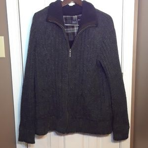 NWOT XXL Saks Fifth Avenue Blue Men's Grey Jacket